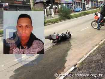 Motociclista morre em batida contra poste, em Coronel Fabriciano - Jornal Diário do Aço