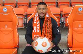 Keshi Anderson Becomes Blackpool's First Summer Signing