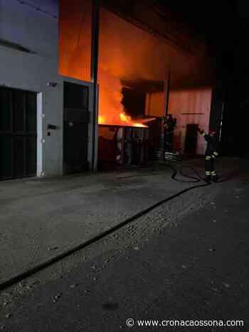 Incendio a Legnano - Co Notizie News ZOOM - CO Notizie - News ZOOM