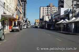 Veja como ficou o centro de Patos de Minas no primeiro dia de comércio fechado por Decreto - Patos Hoje - Notícias de Patos de Minas