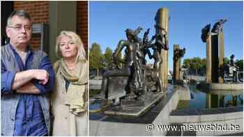 """'Slechts' 20.000 euro schadevergoeding voor kunstenares na diefstal beeldengroep op 't Zand: """"Werelderfgoed? Dat is niet bewezen"""""""