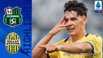 Sassuolo-Verona 3-3. Gol e Highlights - Calcio Style