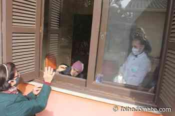 Lar Novo Horizonte: a saudade amenizada através da janela - Folha do Mate