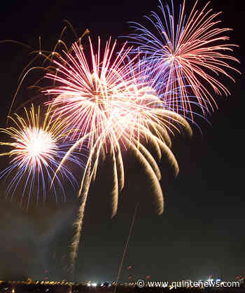 Driving suspension, and fireworks fun in Prince Edward County - Quinte News