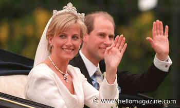 Sophie Wessex and Prince Edward's wedding cake: 5 incredible facts about the seven-tiered creation - HELLO!
