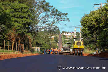 Com a chegada do asfalto, Prefeitura de Nova Andradina muda a realidade de bairros - Nova News - Nova News