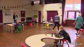 Coronavirus: Pupils in Wales return to school after three months