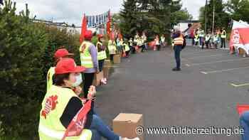 Eichenzell: Wirthwein-Mitarbeiter demonstrieren erneut - Fuldaer Zeitung