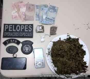 Jovem é preso por tráfico em União dos Palmares - Alagoas 24 Horas