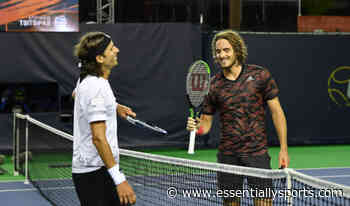 """""""Linesman Is My Uncle"""" – Stefanos Tsitsipas Bickers With Feliciano Lopez - Essentially Sports"""