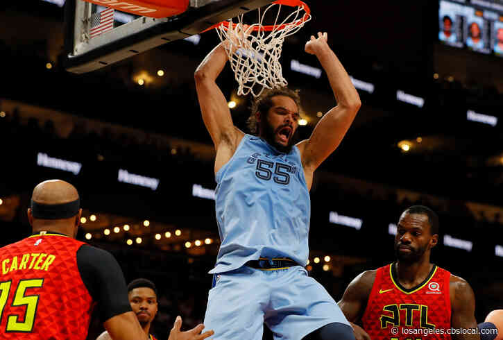 Clippers Sign Center Joakim Noah For Remainder Of Season