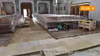 Baustelle in der Karlshulder Pfarrkirche
