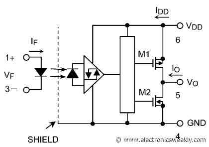 High speed photo couplers work at 2.2V