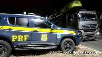 Assaltante foragido da Justiça goiana é preso pela PRF na Bahia - Nas Malhas da Lei
