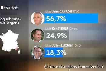 Municipales à Roquebrune-sur-Argens dans le Var : Jean Cayron (DVC) élu maire - France 3 Régions