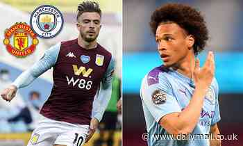 Manchester City 'to rival United for Jack Grealish if Bayern Munich pay asking price for Leroy Sane'