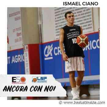 SERIE B UFFICIALE – San Miniato, Ismael Ciano seconda conferma - Basketinside