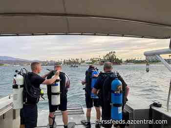 Man missing in Lake Havasu, underwater search efforts underway