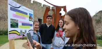 Avranches. Les lycéens inaugurent un parcours de visite insolite du centre-ville - la Manche Libre