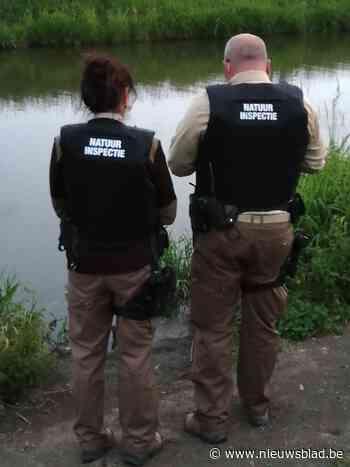 Tal van overtredingen bij grootschalige controle riviervisse... (Veurne) - Het Nieuwsblad