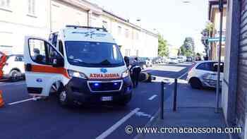 Scontro in via Roma a Marcallo con Casone - Co Notizie News ZOOM - CO Notizie - News ZOOM