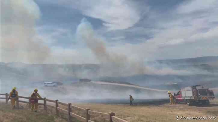 Brush Fire In Douglas County Spreading Rapidly, Fire Crews Warn