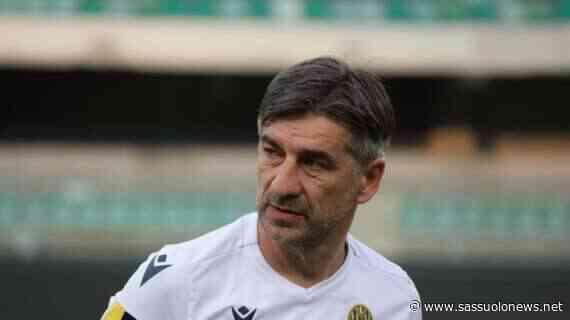 "Juric: ""Subiti dei grandissimi gol. Il punto a Sassuolo va benissimo"" - Sassuolonews.net"