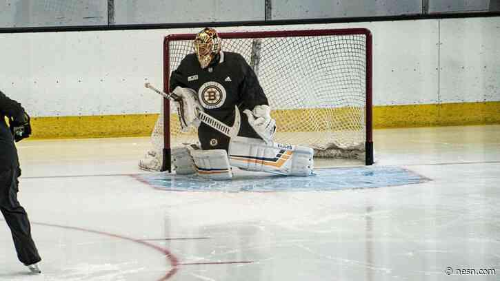 Watch Tuukka Rask Practice As Bruins' Workout Groups Continue To Grow