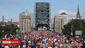 Coronavirus: Great North Run goes virtual on 40th anniversary
