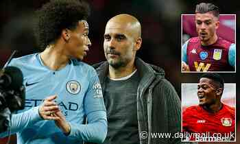 What does Leroy Sane leaving do for Pep Guardiola's squad and who will replace him?