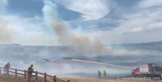 Evacuations underway as 267-acre wildfire burns southeast of Chatfield State Park