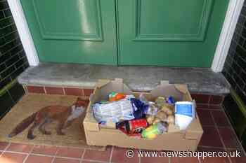 Food boxes appear unexpectedly outside homes in Lewisham - News Shopper