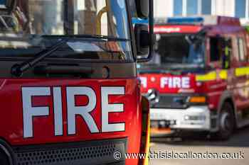 LFB fight flat fire on Lewisham Road, Greenwich - This is Local London