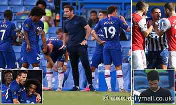 Chelsea and Brighton are kings of the water break having gained THREE points each in the aftermath
