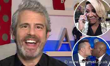 Andy Cohen officiates virtual wedding in honor of LGBT Pride Month and enlists Patti LaBelle to sing