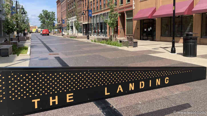 Two Landing businesses plan July opening, others under construction