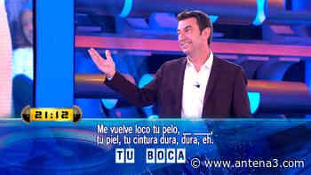 """La declaración de amor de Arturo Valls: """"Me vuelves loco Palmira"""" - Antena 3"""