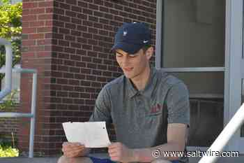 Corner Brook Regional High graduate talks about plans, gives himself advice in three-year-old letter - SaltWire Network