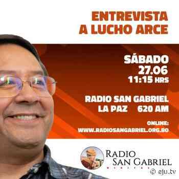 En este momento estamos dialogando en Radio San Gabriel @pueblo_aymara … - eju.tv