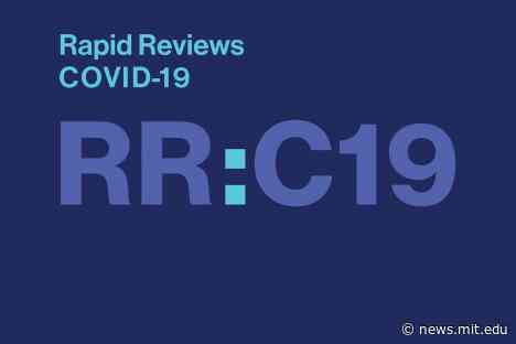 The MIT Press and UC Berkeley launch Rapid Reviews: COVID-19