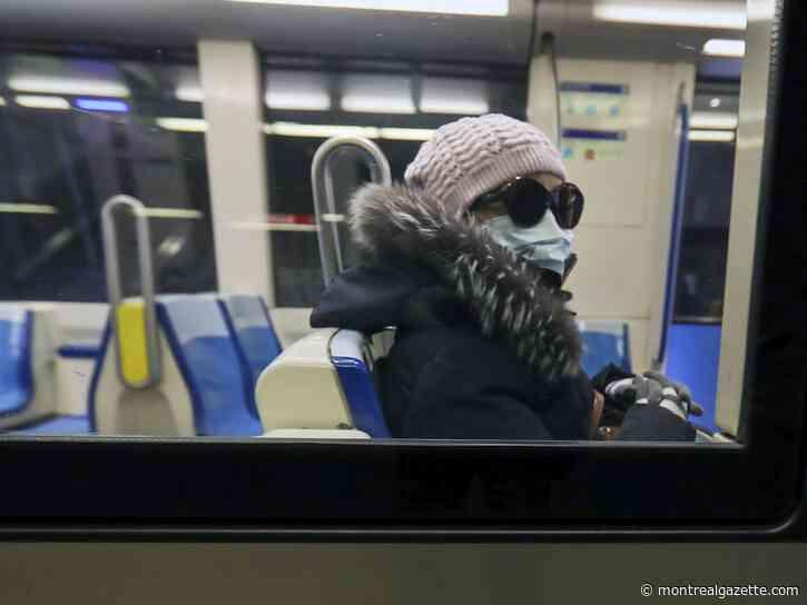 Quebec to make masks mandatory on public transit