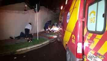 Colisão entre carro e moto deixa casal ferido em Londrina - CGN