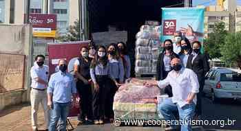 Uniodonto Londrina doa 2,5 toneladas de alimentos e itens de limpeza para Cáritas Arquidiocesana | Notícias - EasyCoop - Cooperativismo em Revista