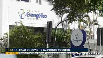 Pronto-socorro do Hospital Evangélico de Londrina que atende pacientes do SUS fica fechado até terça-feira (30) - G1