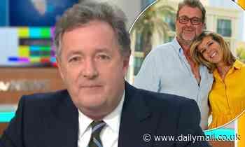 Piers Morgan revealsKate Garraway is 'living in hope' for husband Derek Draper's recovery