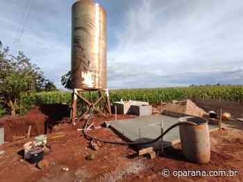 Obras levam saneamento para comunidades rurais em Santa Terezinha de Itaipu - O Paraná