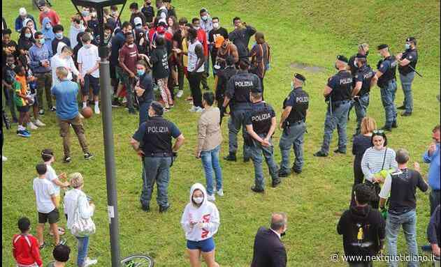 La contestazione a Salvini a Gardone Val Trompia - next