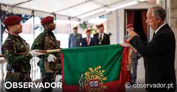 Marcelo Rebelo de Sousa condecora Regimento de Comandos e elogia a sua defesa da liberdade - Observador