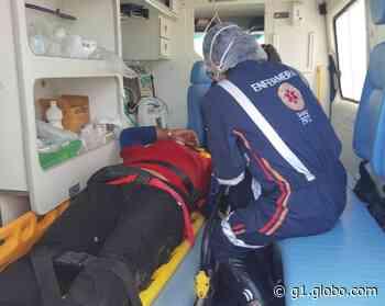 Motociclista é agredido a pauladas após acidente na AL-115 em Arapiraca - G1