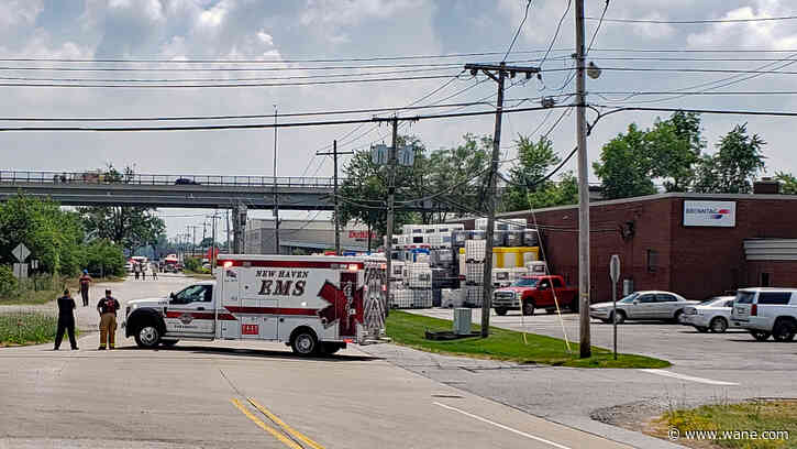 Hydrochloric acid spilled at New Haven business
